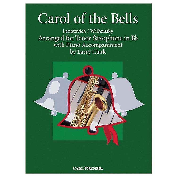 Carl FischerCarol Of The Bells - Tenor Saxwith Piano Accompaniment