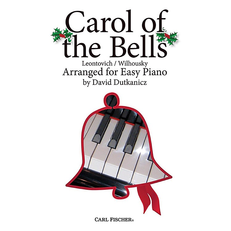 Carl FischerCarol of the Bells for Easy Piano