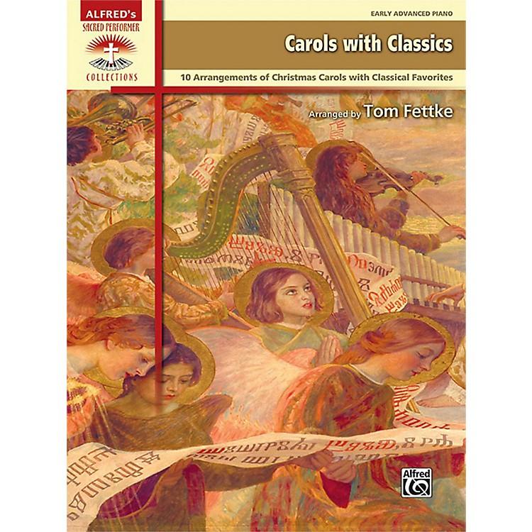 AlfredCarols with Classics Early Advanced Piano Book