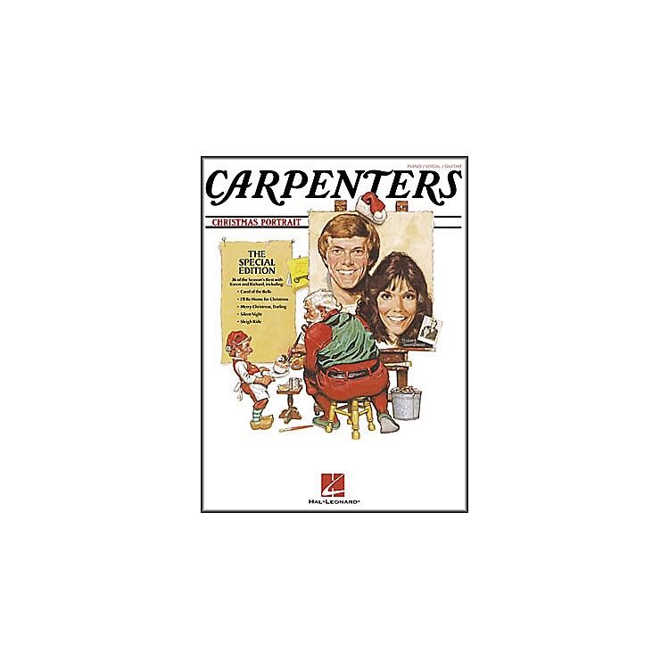 Hal LeonardCarpenters - Christmas Portrait Piano, Vocal, Guitar Songbook