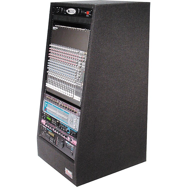 Odyssey Carpeted Studio Rack with Wheels