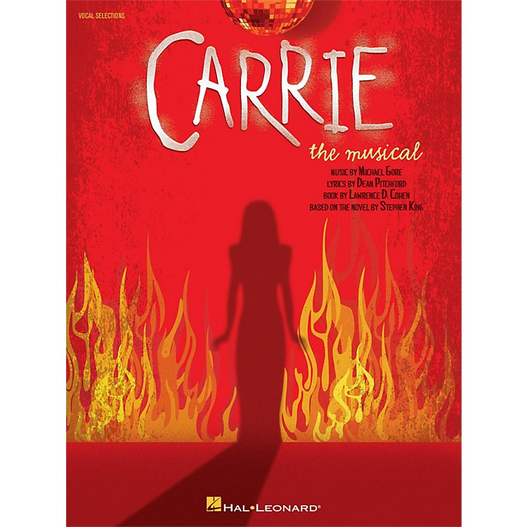 Hal Leonard Carrie The Musical Piano/Vocal Selections