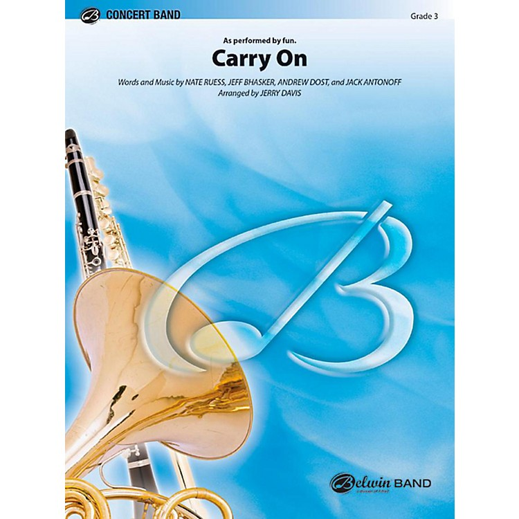 AlfredCarry On Concert Band Level 3 Set