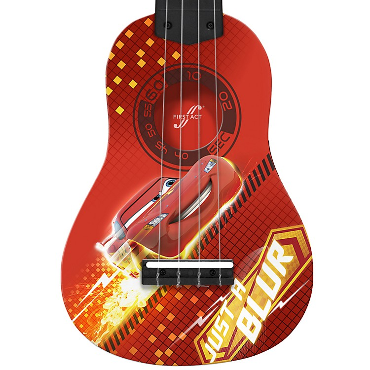 First Act Cars Mini Guitar Cars Graphic