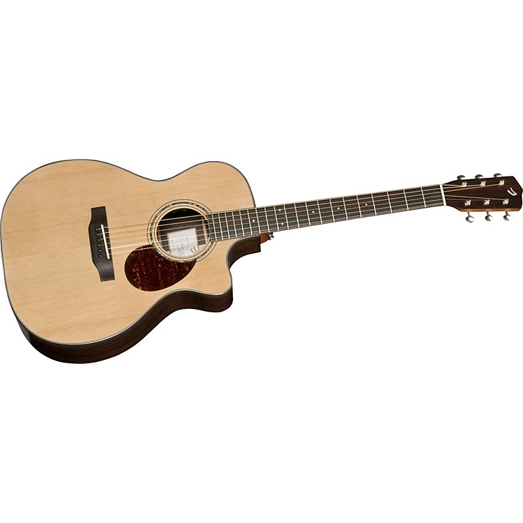 BreedloveCascade OM/CRe Cutaway Orchestra Acoustic-Electric Guitar