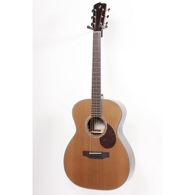 Breedlove Cascade OM/CRe Orchestra Acoustic-Electric Guitar Natural 886830798887