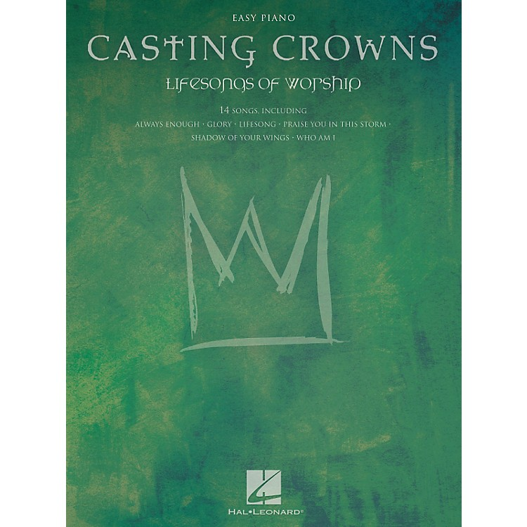 Hal LeonardCasting Crowns - Lifesongs Of Worship For Easy Piano
