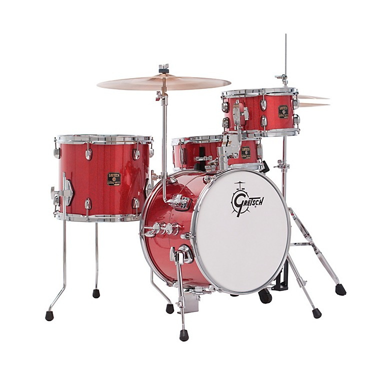 Gretsch Drums Catalina Club 4-Piece Street Shell Pack Red Sparkle