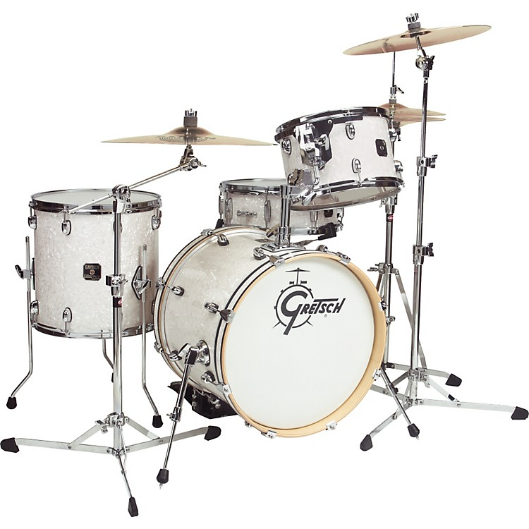 Gretsch Drums Catalina Club Jazz 4-Piece Shell Pack White Marine Pearl