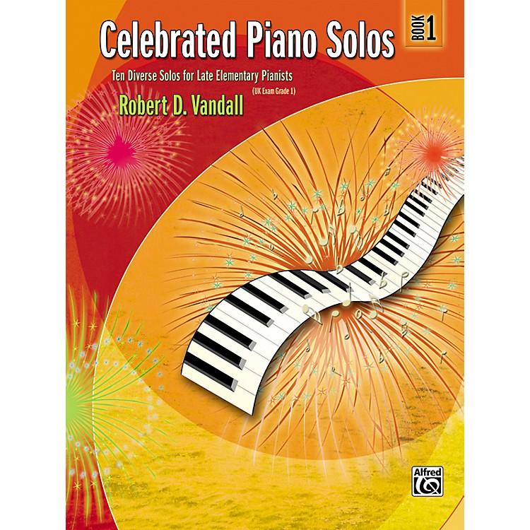 AlfredCelebrated Piano Solos Book 1
