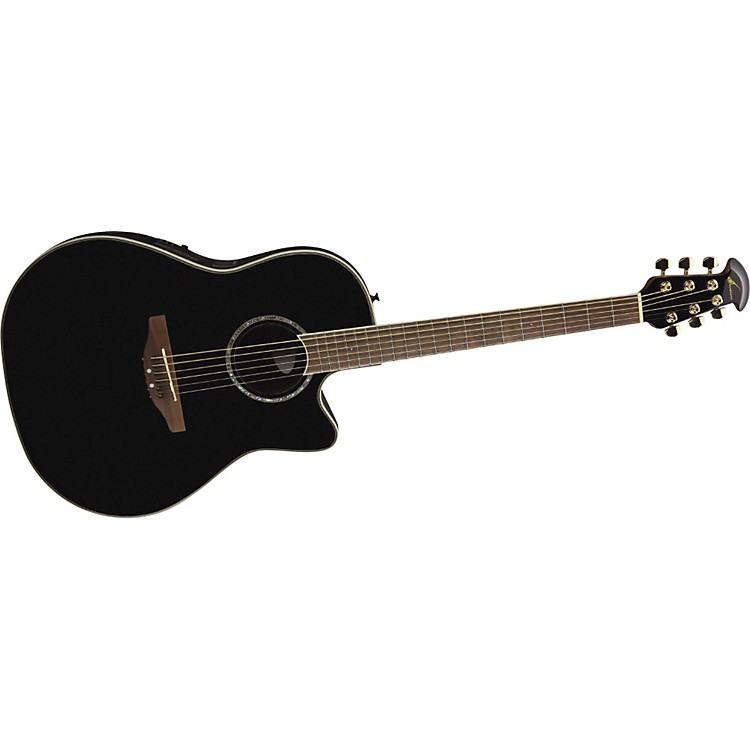 Ovation Celebrity CC24 Acoustic-Electric Guitar Black