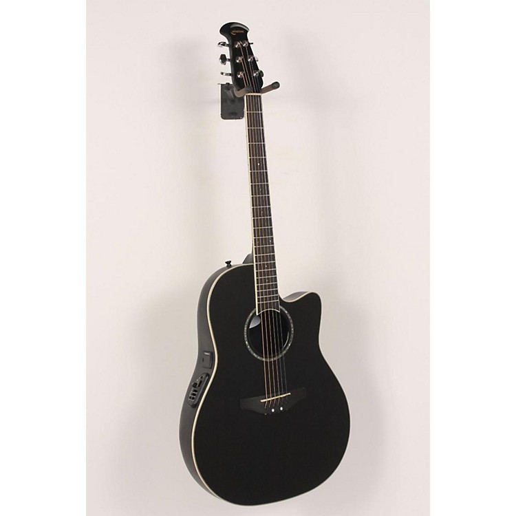Ovation Celebrity CC24 Acoustic-Electric Guitar Black 886830789489