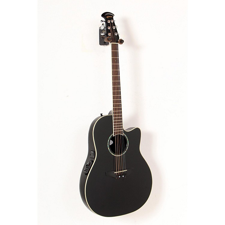 Ovation Celebrity CC24 Acoustic-Electric Guitar Black 888365204741