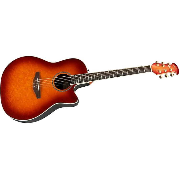 Ovation Celebrity Mid Depth Birdseye Maple