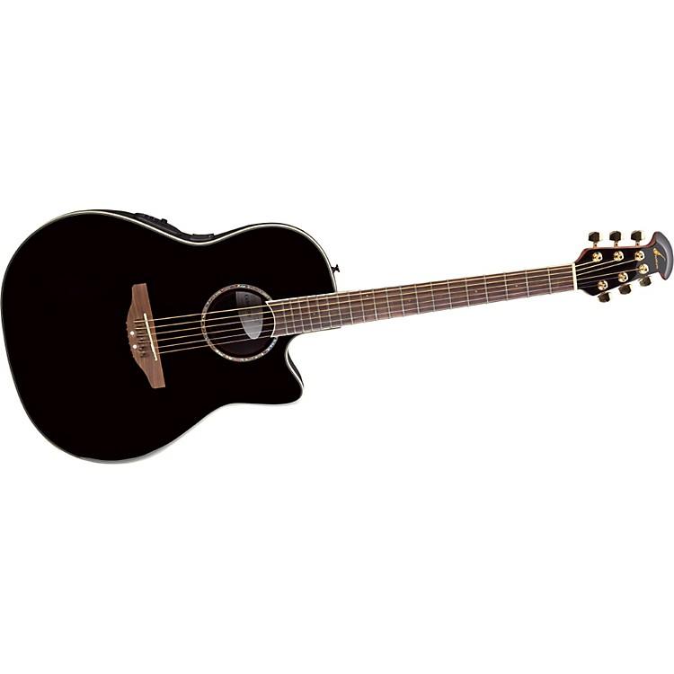 OvationCelebrity SS Super Shallow Contour Acoustic-Electric GuitarBlack