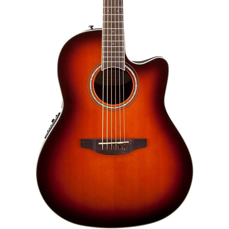 OvationCelebrity Standard Mid-Depth Cutaway Acoustic-Electric GuitarSunburst