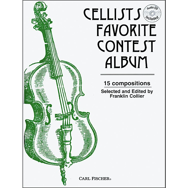 Carl Fischer Cellists Favorite Contest Album Book