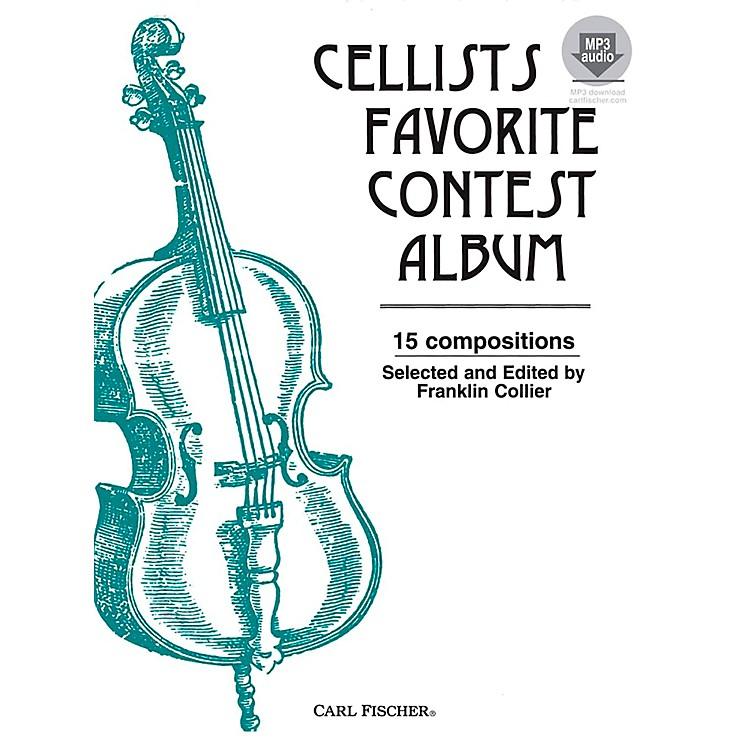 Carl FischerCellists Favorite Contest Album Book