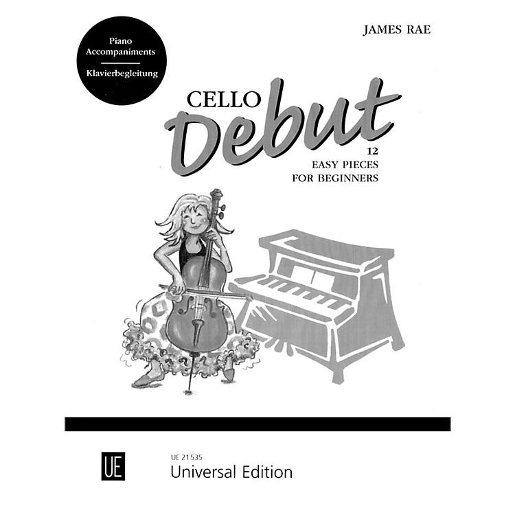 Carl FischerCello Debut - Piano Accompaniment (Book)