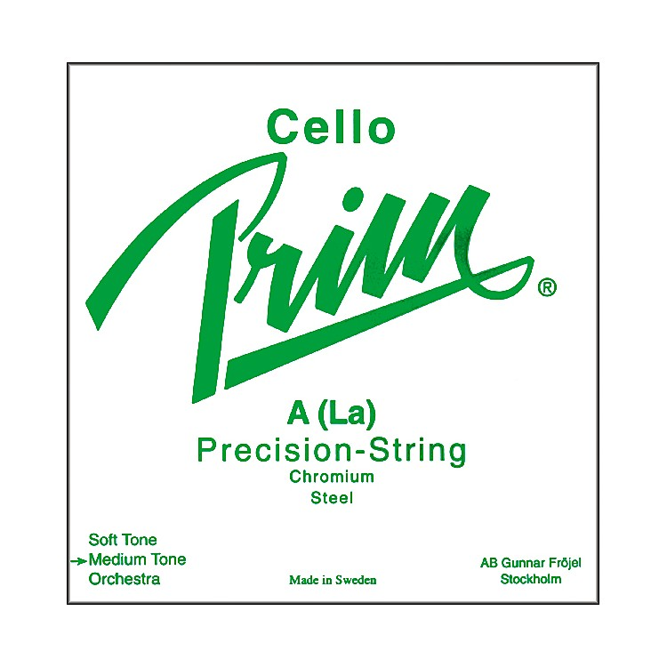 Prim Cello Strings Set, Light Gauge