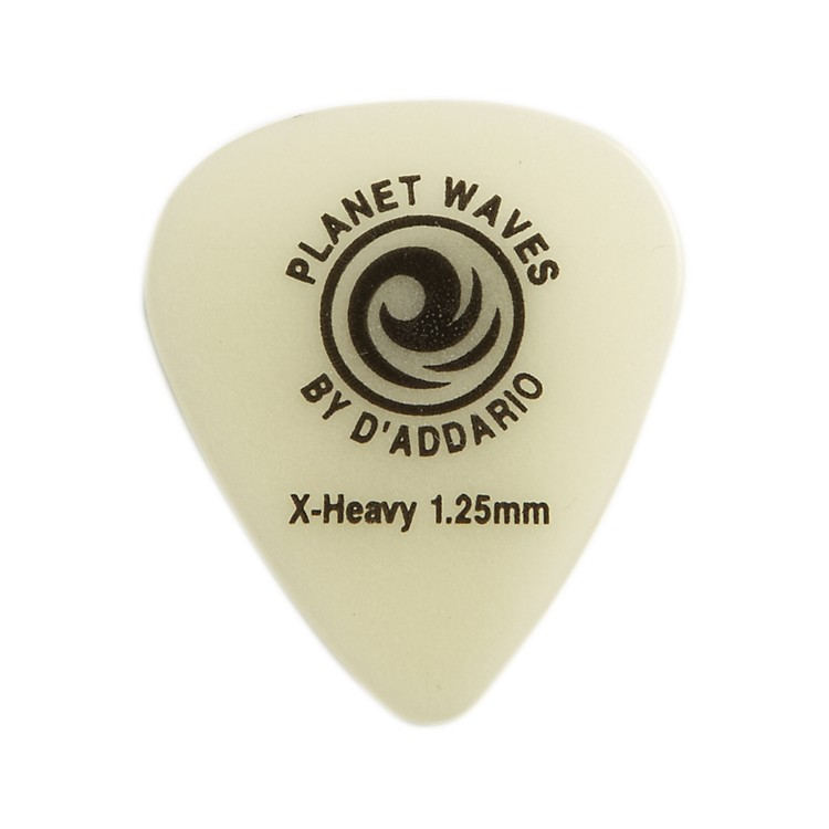 D'Addario Planet WavesCellu-Glow Guitar PicksExtra Heavy100 Pack