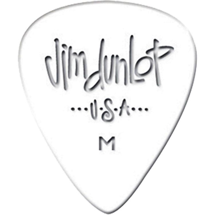 DunlopCelluloid Classic Guitar Picks 1 DozenWhiteExtra Heavy