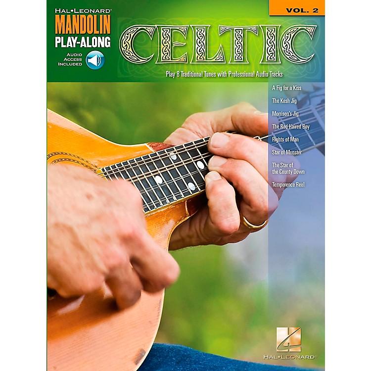 Hal LeonardCeltic - Mandolin Play-Along Volume 2 Book/CD