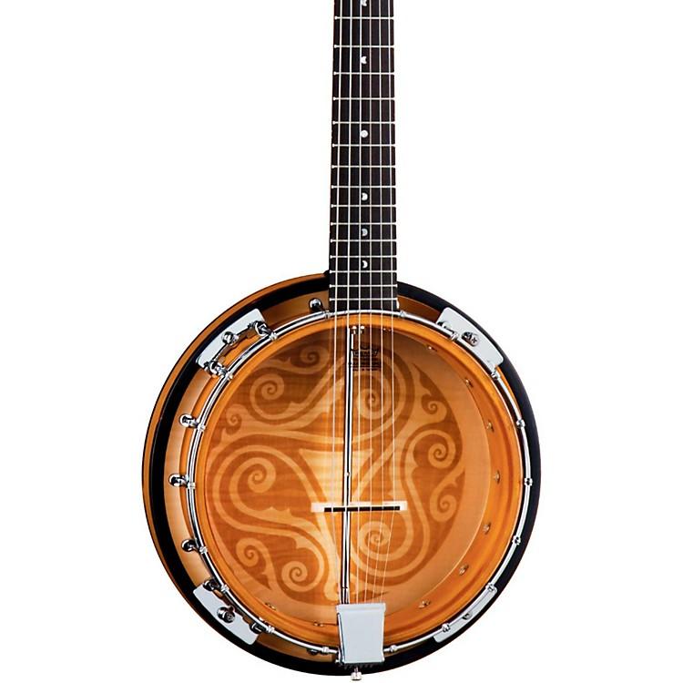 Luna GuitarsCeltic 6-String Banjo