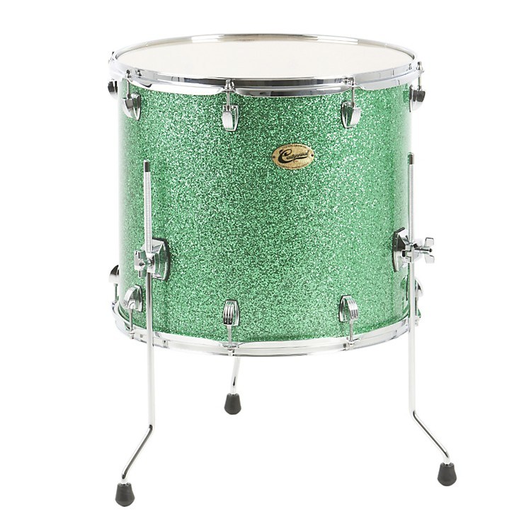 Ludwig Centennial Floor Tom Drum Green Sparkle 18X16