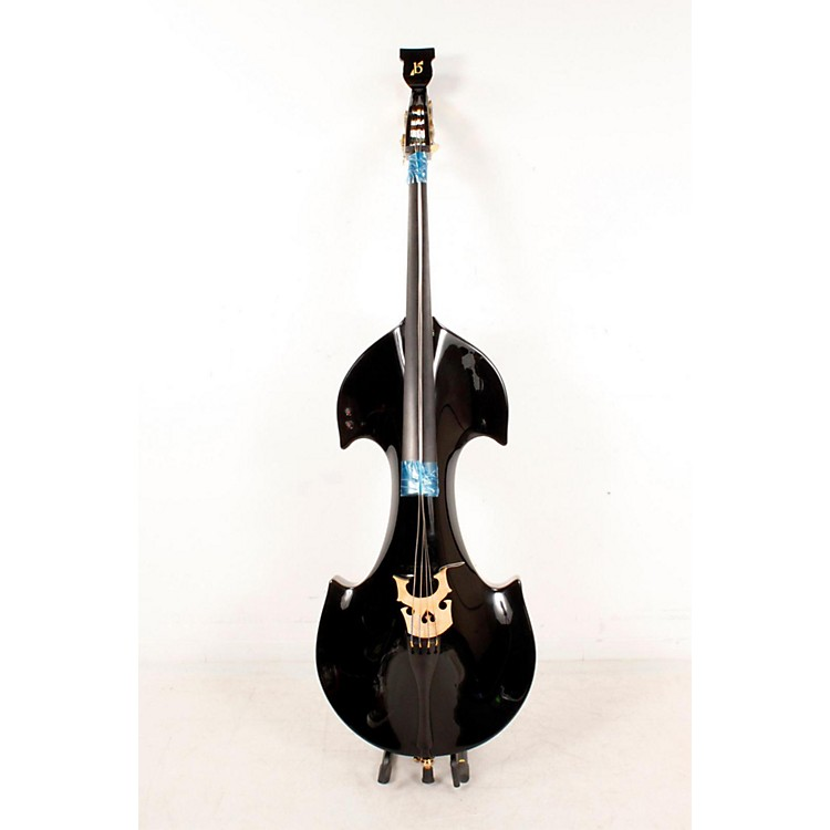 Bridge Cetus Series 4-String Electric Double Bass Black 888365784465