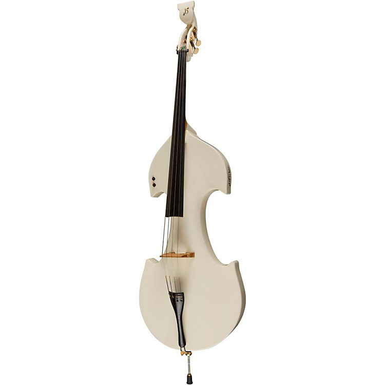 Bridge Cetus Series 4-String Electric Double Bass White