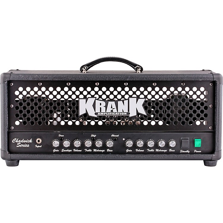 Krank Chadwick Series 2-Channel Tube Guitar Head Black Black Grill