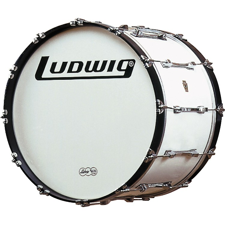 LudwigChallenger Bass DrumWhite30 Inch