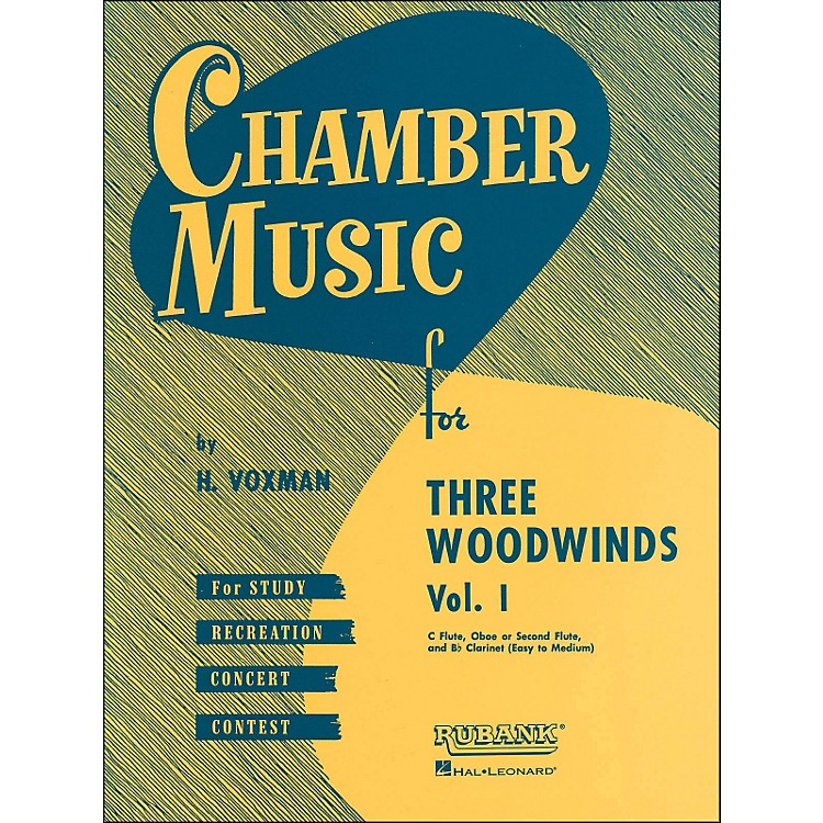 Hal LeonardChamber Music Series for Three Woodwinds, Vol. 1 Flute, Oboe Or 2nd Flute, And Clarinet