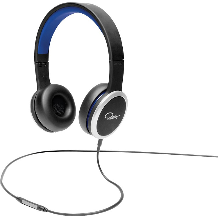 WeSC Chambers by RZA Street Headphones Blue and Black