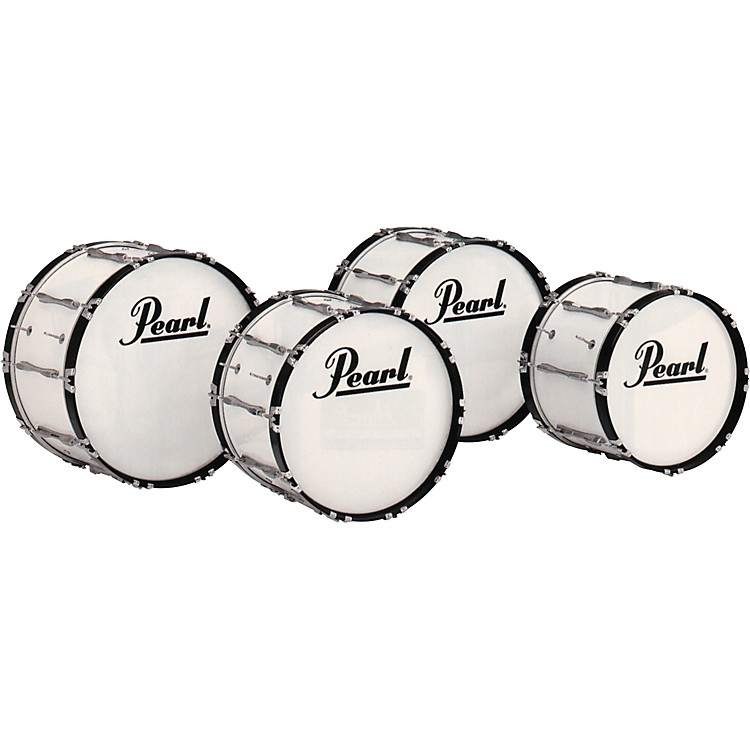 Pearl Championship Bass Drum White 16x32