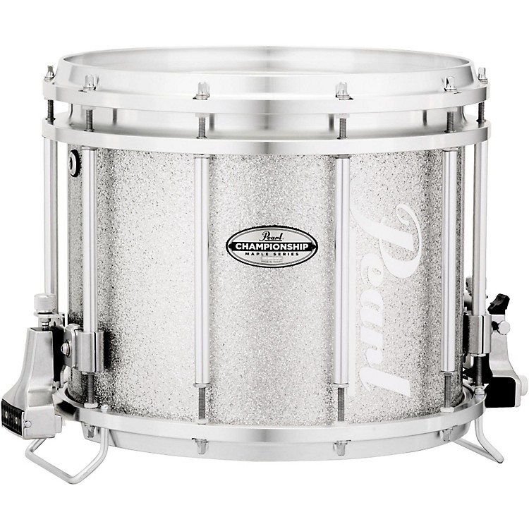 Pearl Championship Maple FFX Marching Snare Drum 13 x 11 in. Silver Sparkle