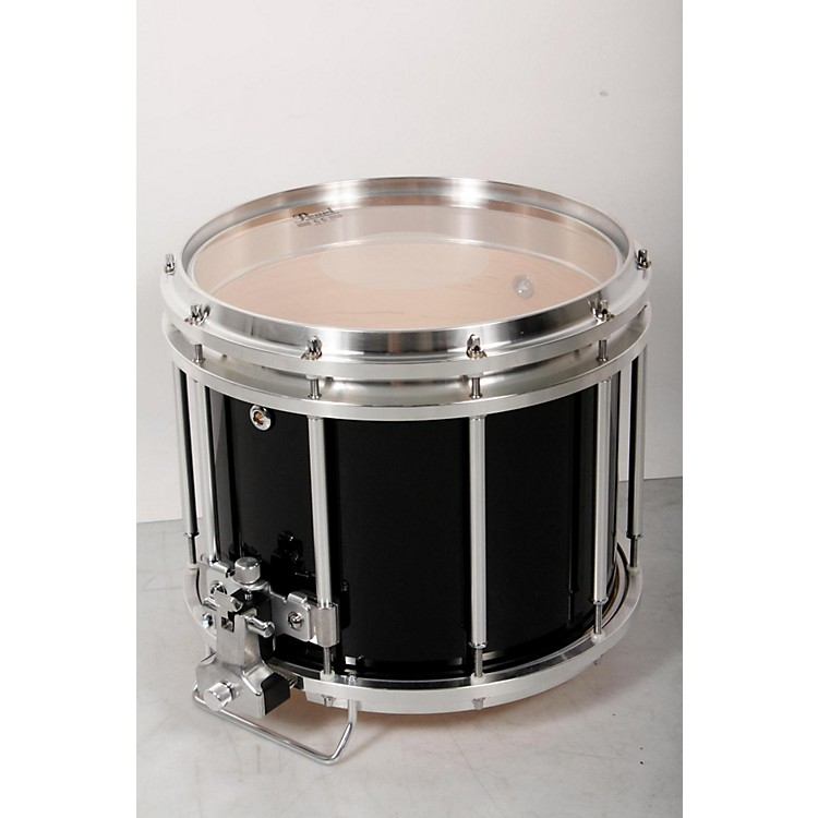 Pearl Championship Maple FFX Marching Snare Drum 13 x 11 in., Midnight Black 888365843834