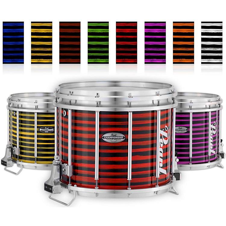 PearlChampionship Maple Varsity FFX Marching Snare Drum Spiral Finish14 x 12 in.Orange #996