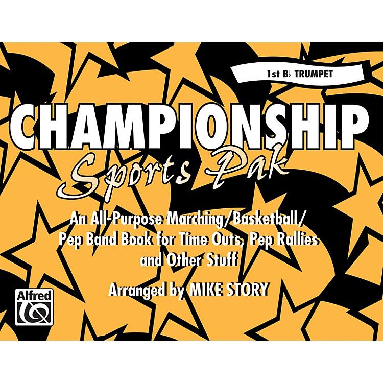 AlfredChampionship Sports Pak 1st B-Flat Trumpet