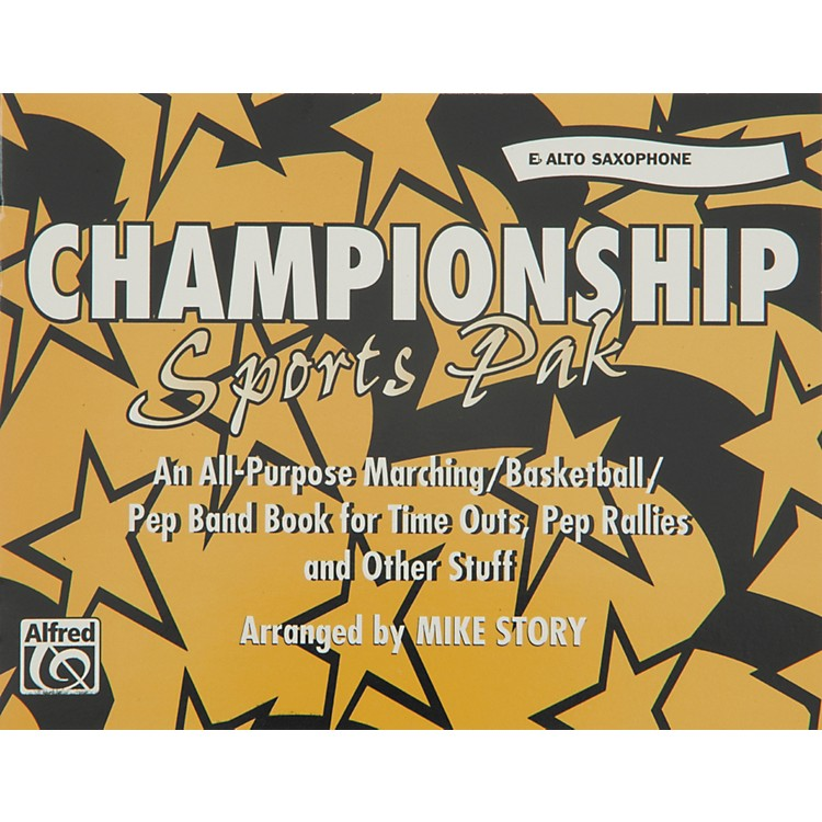 AlfredChampionship Sports Pak E-Flat Alto Saxophone