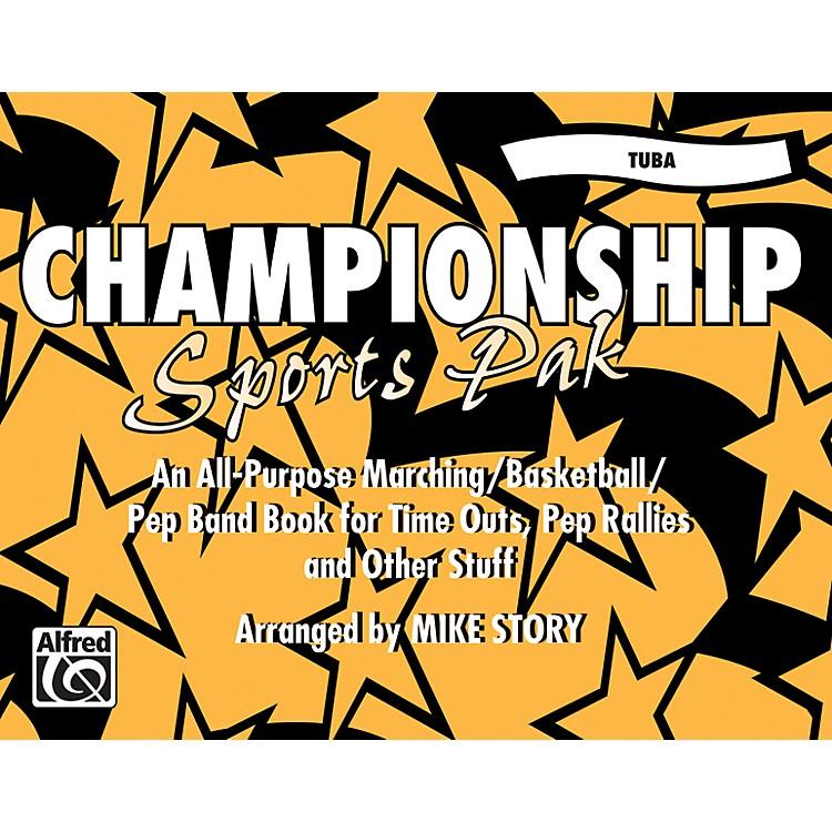 AlfredChampionship Sports Pak Tuba