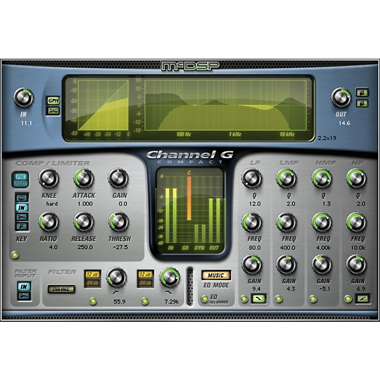 McDSP Channel G Compact Native v5 Software Download