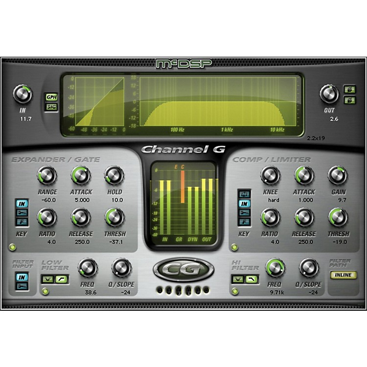 McDSP Channel G Native v5 Software Download Software Download