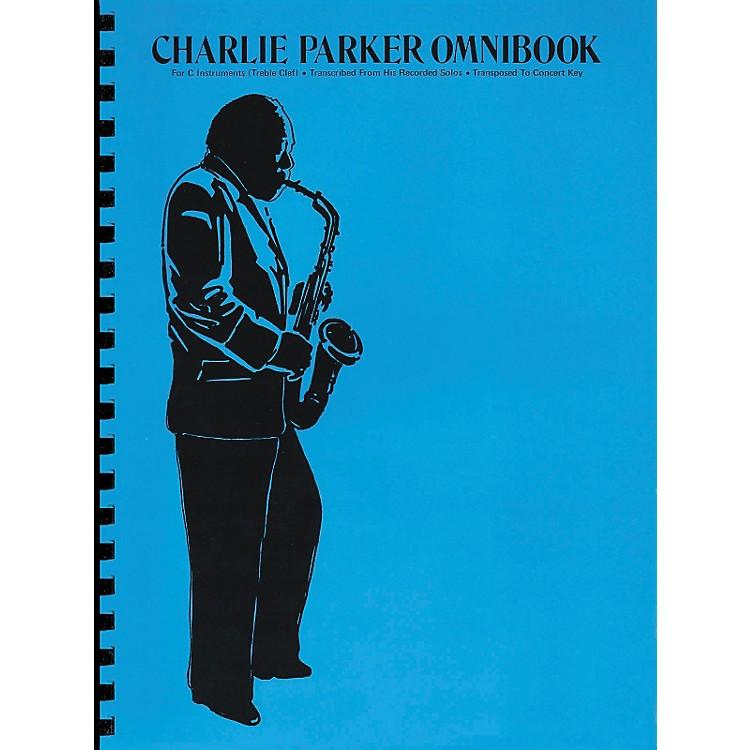 Hal LeonardCharlie Parker Omnibook for C Instruments Treble Clef