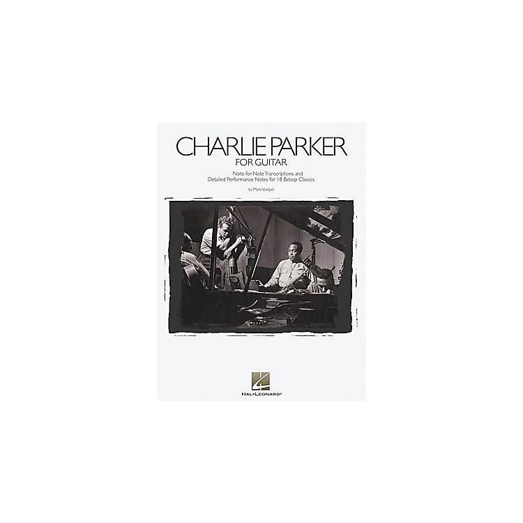 Hal LeonardCharlie Parker Solos Transcribed for Guitar