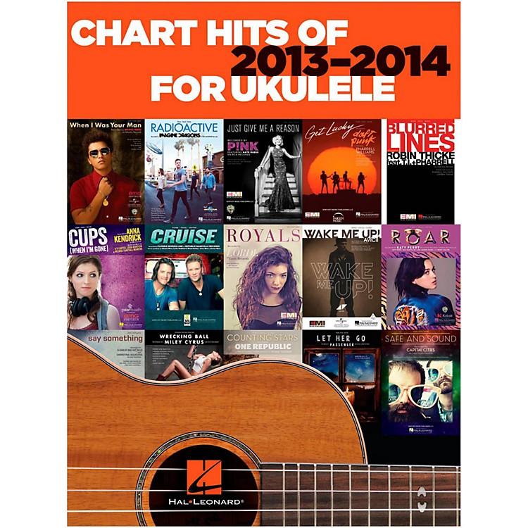 Hal LeonardChart Hits Of 2013-2014 For Ukulele