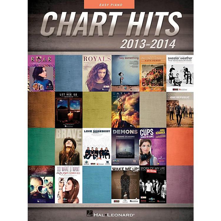 Hal LeonardChart Hits Of 2013-2014 for Easy Piano
