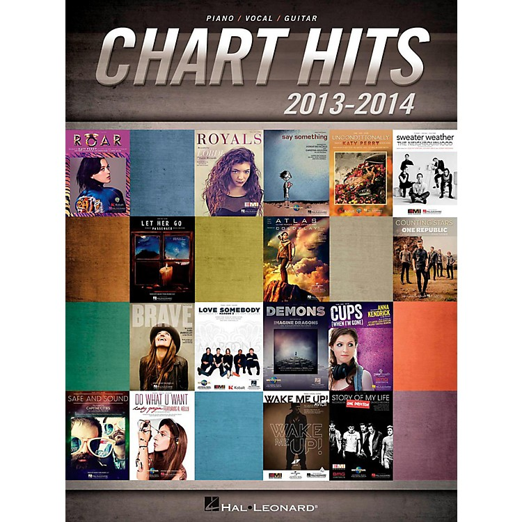Hal LeonardChart Hits Of 2013-2014 for Piano/Vocal/Guitar Songbook