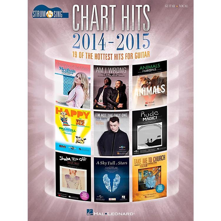 Hal LeonardChart Hits Of 2014-2015 - Strum & Sing Guitar